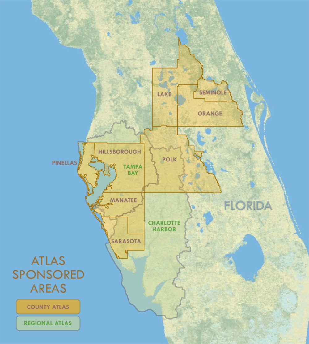 Florida Atlas Sponsored Areas