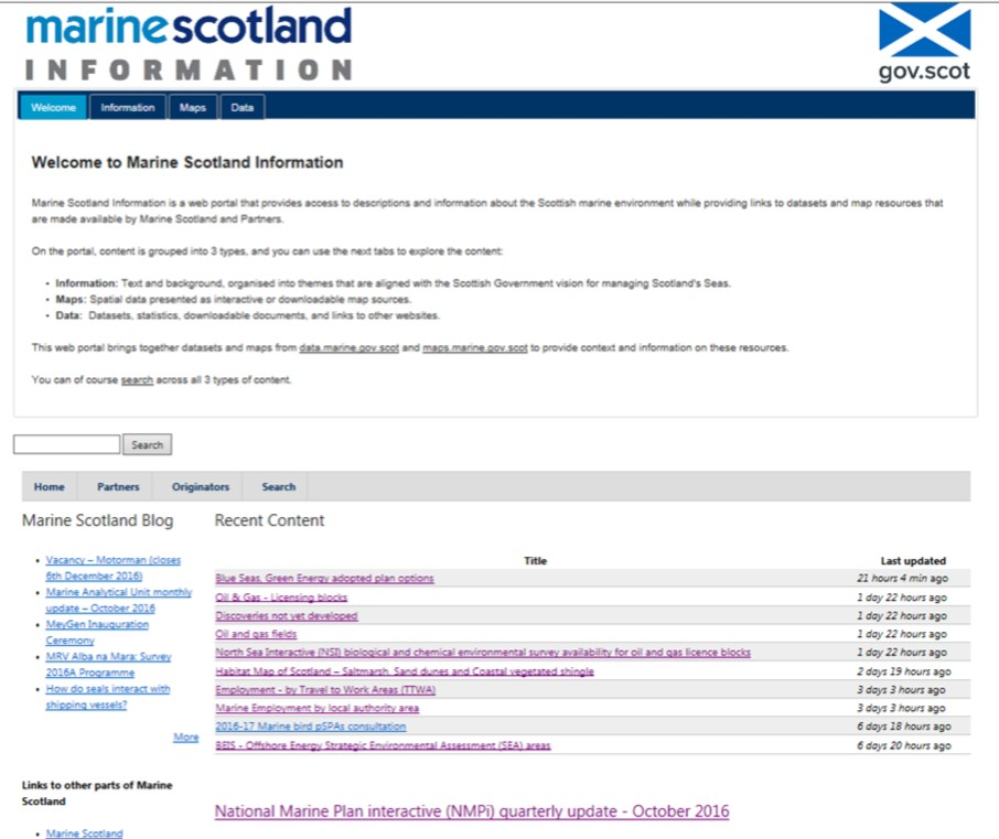 8ed6dd216 Content on Marine Scotland Information is grouped into three types
